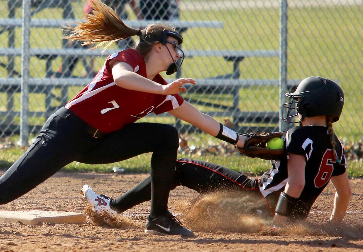 Katie Tews, Sun Prairie softball vs. Madison La Follette