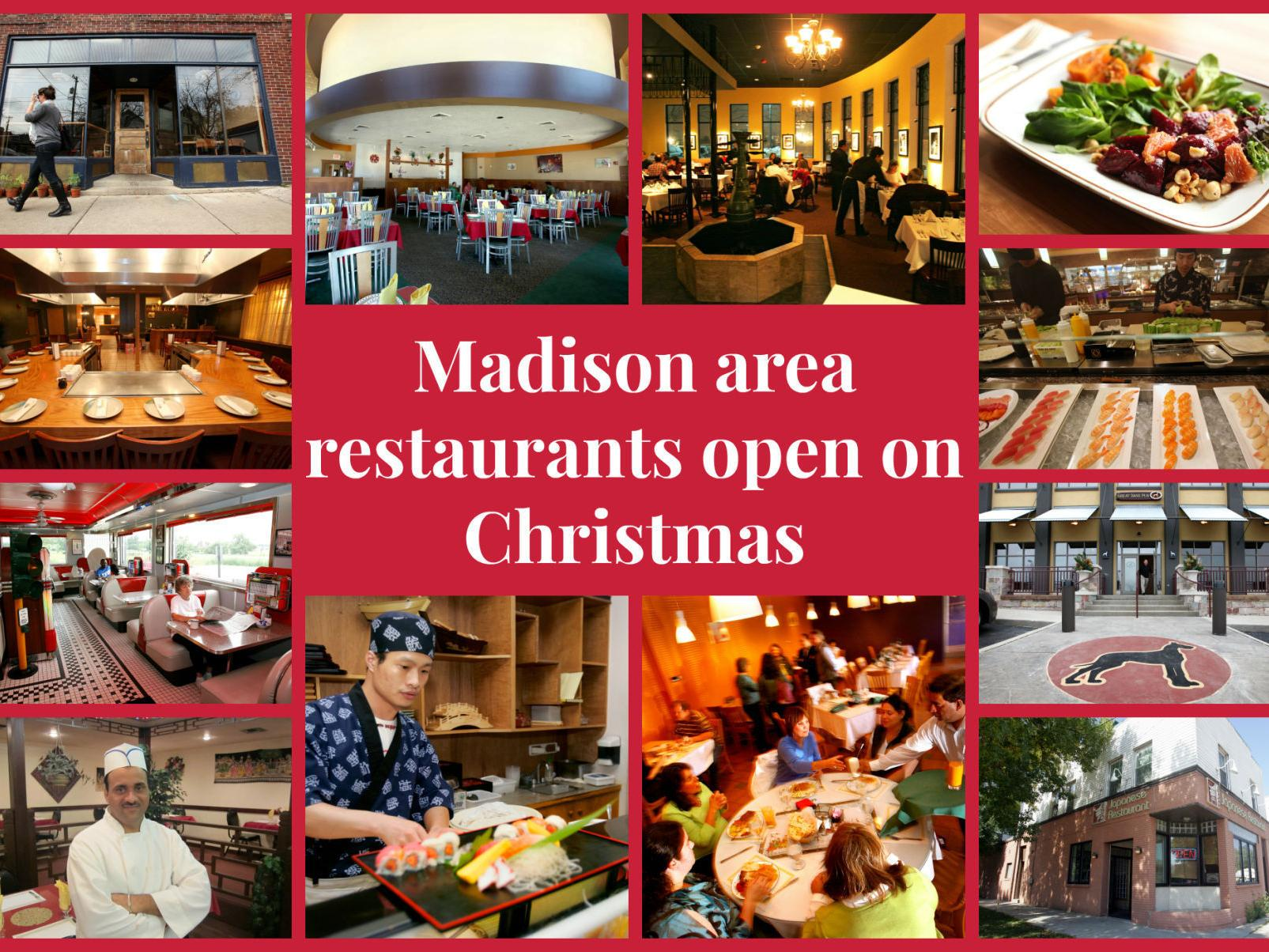 Madison Resturant Open Christmas Day 2021