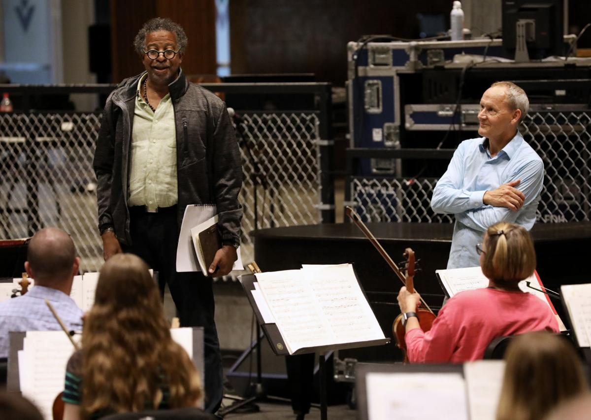 Composer Bill Banfield meets Wisconsin Chamber Orchestra