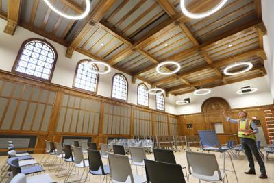 Municipal Building courtroom