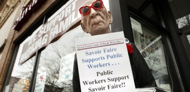 Savoir Faire supporting protesters