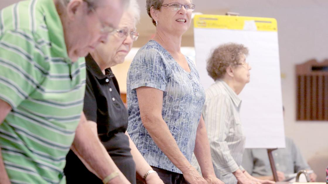 Class aims to prevent falls, fight Wisconsin's high rate of deadly spills