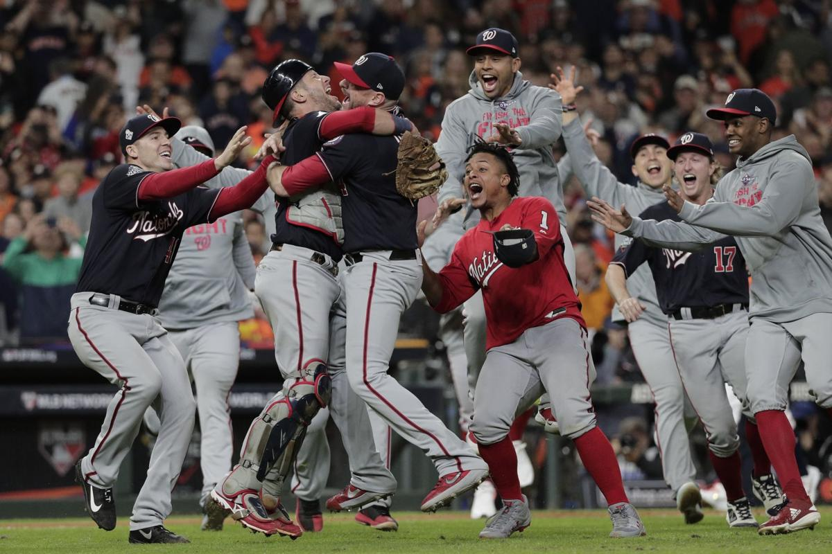 Nationals win World Series, AP photo