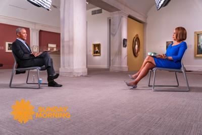 Barack Obama and Gayle King