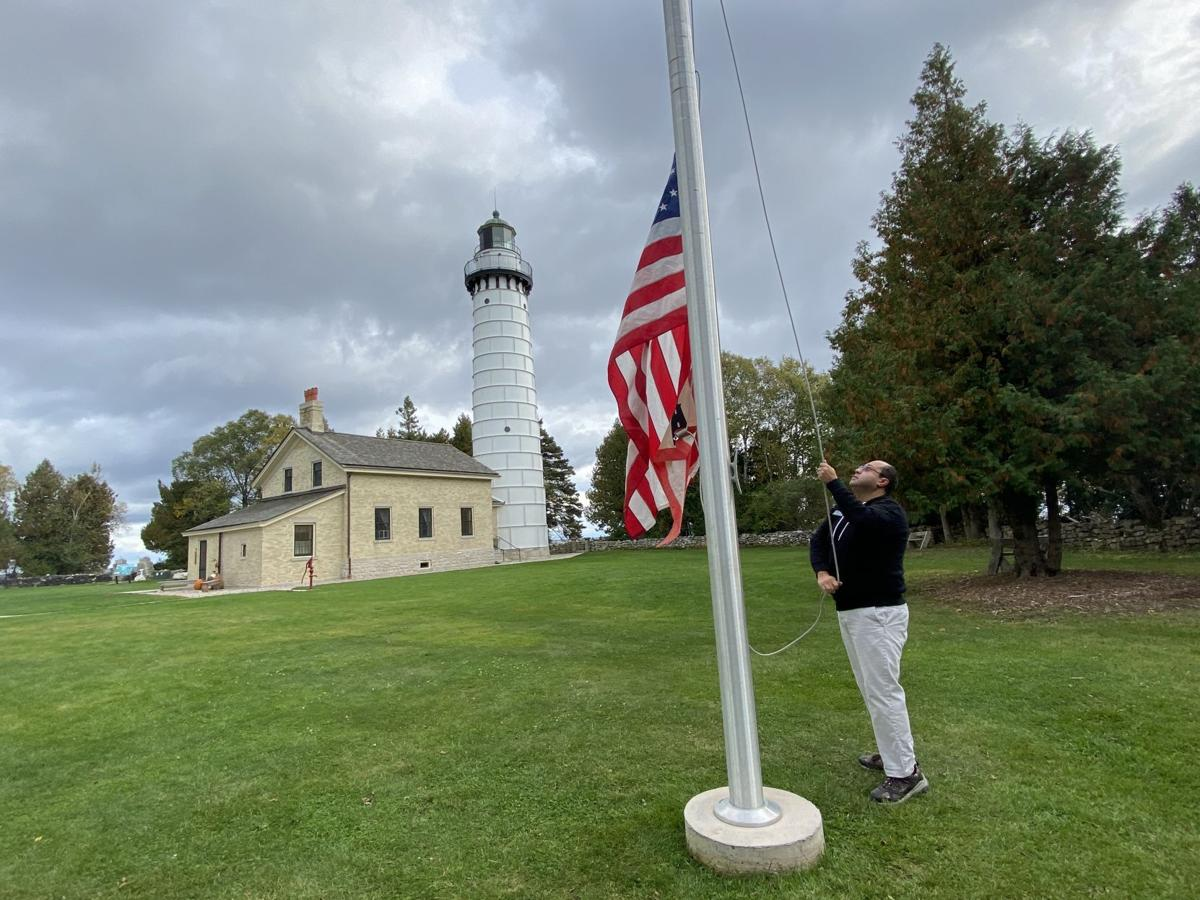 Door County lighthouses and range lights