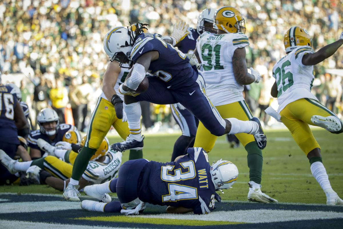 Packers Chargers Football