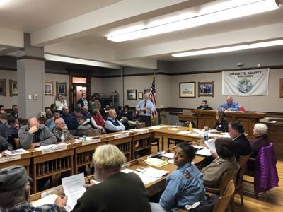 Lafayette county board for jump