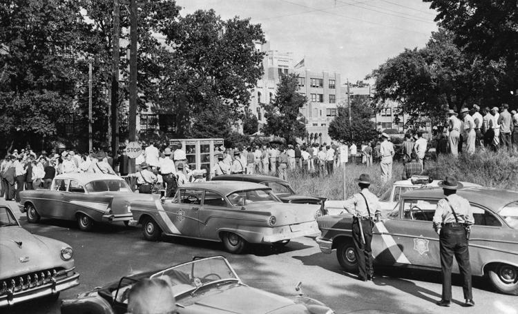 1957: Little Rock Central High School