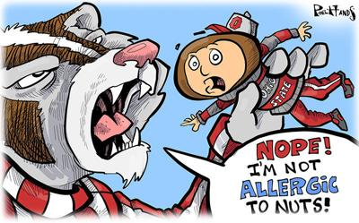 Bucky takes a bite out of Ohio State