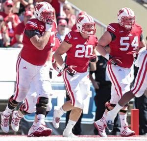 Austin Ramesh Wisconsin Badgers Football Jersey Red