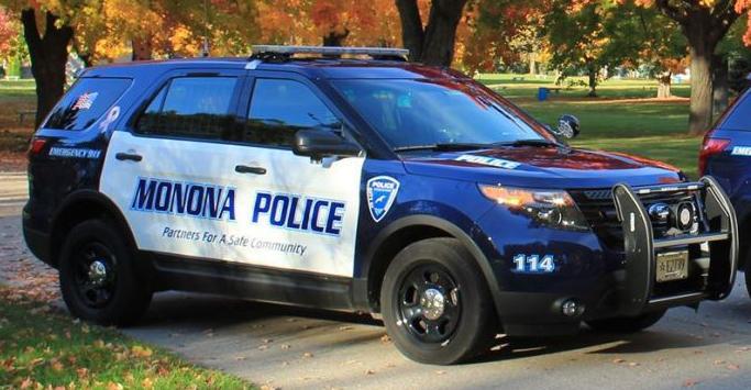 Monona police squad car