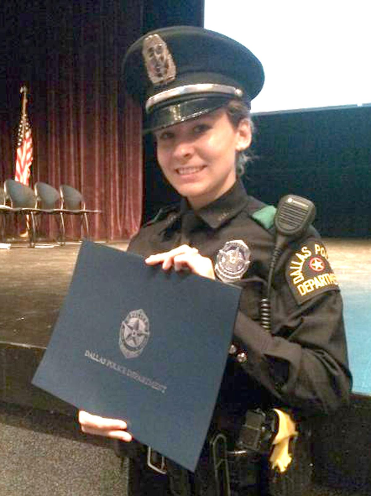 Beaver Dam woman a Dallas police officer who received minor