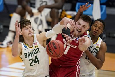 NCAA Wisconsin Baylor Basketball potter