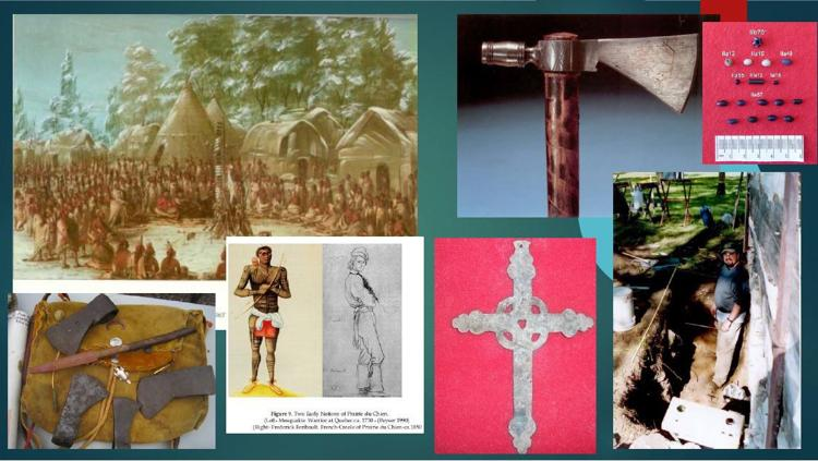 Fur trade era images, artifacts, and Ryan Howell's excavation at Prairie du Chien CHARLES E. BROWN ARCHAEOLOGICAL SOCIETY