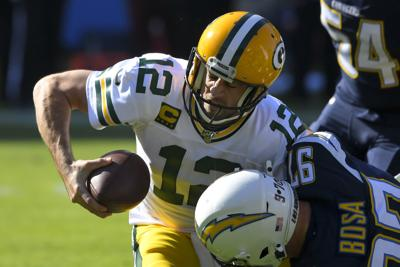 Chargers 26, Packers 11