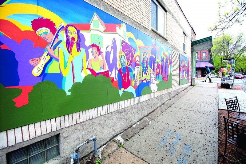 Willy Street mural 1