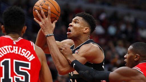 Bucks' Giannis Antetokounmpo won't play Wednesday night vs. Pelicans