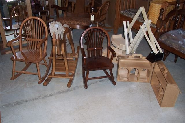 Amish Children's Toys & Chairs