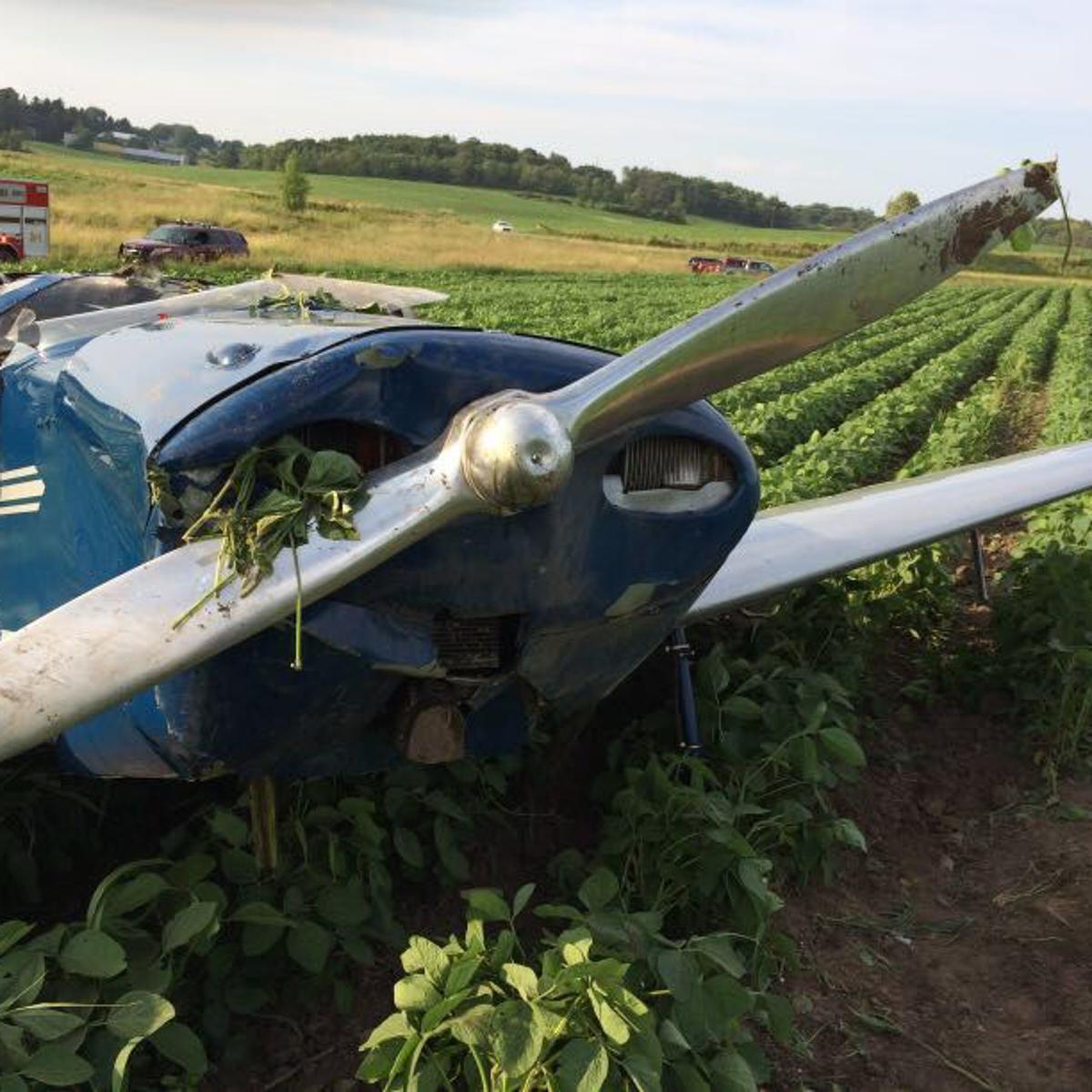 Plane crashes in Vernon County on way to EAA Air Show, 2