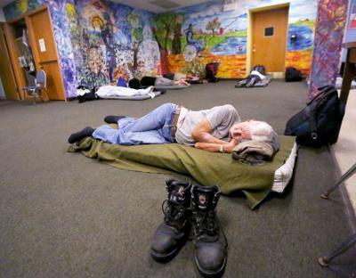 Homeless mens shelter