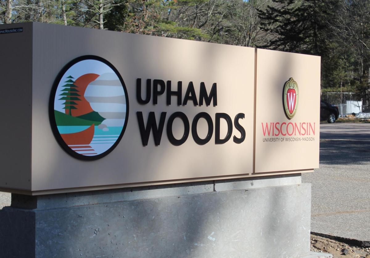 Upham Woods camp sign Wisconsin Dells
