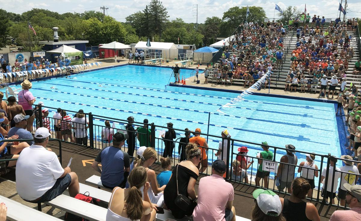 All-City Swim Meet at West Side Swim Club
