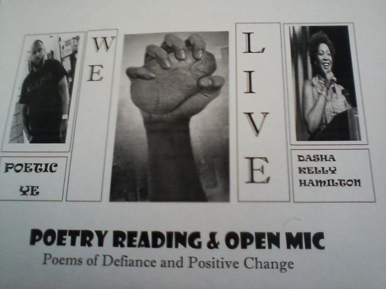 We Live! Poetry Reading & Open Mic