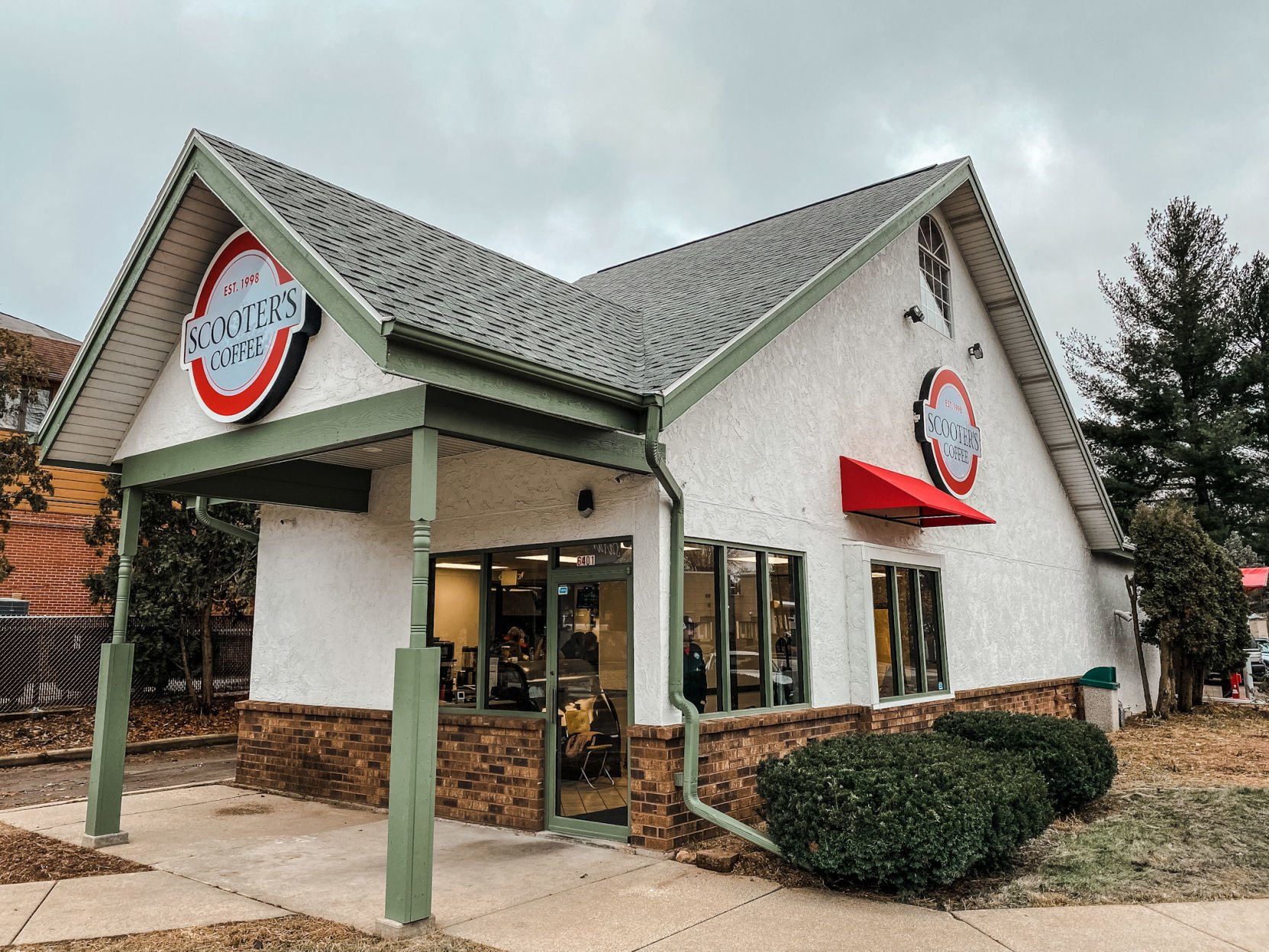 Scooter S Coffee Moves Into Old Chicken Run Crandall S Restaurants Madison Com