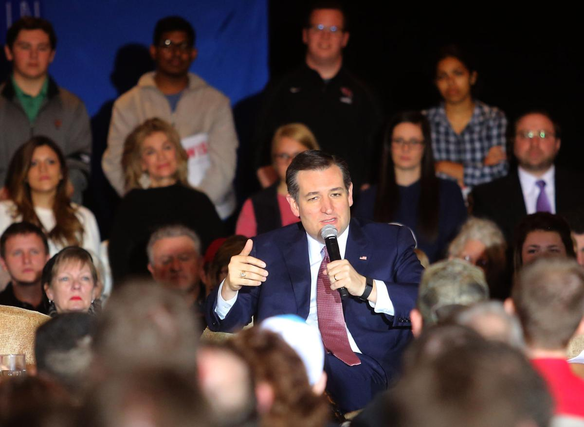 Ted Cruz leads in Wisconsin ahead of next week's presidential primary election