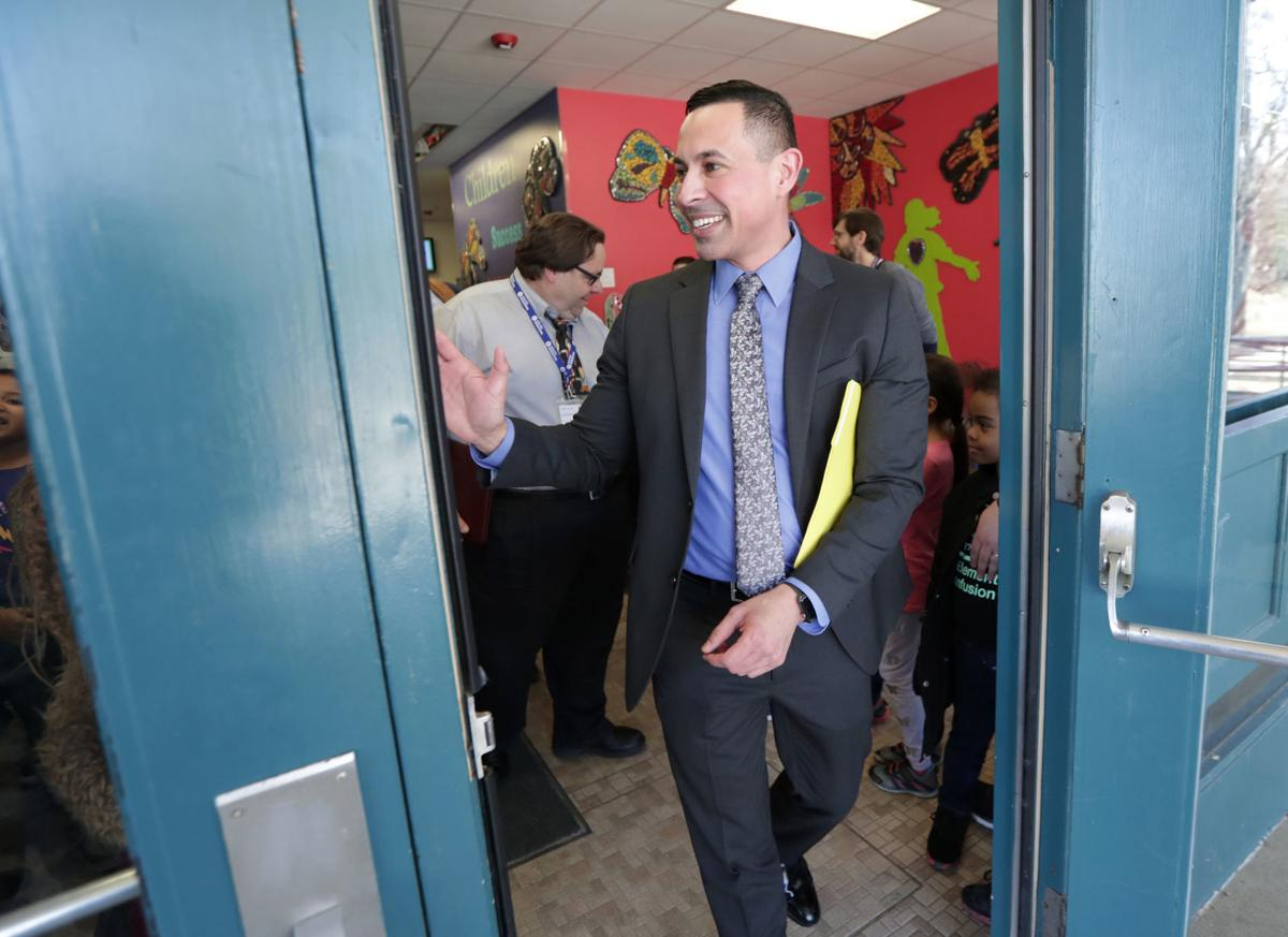 Matthew Gutierrez visits Madison