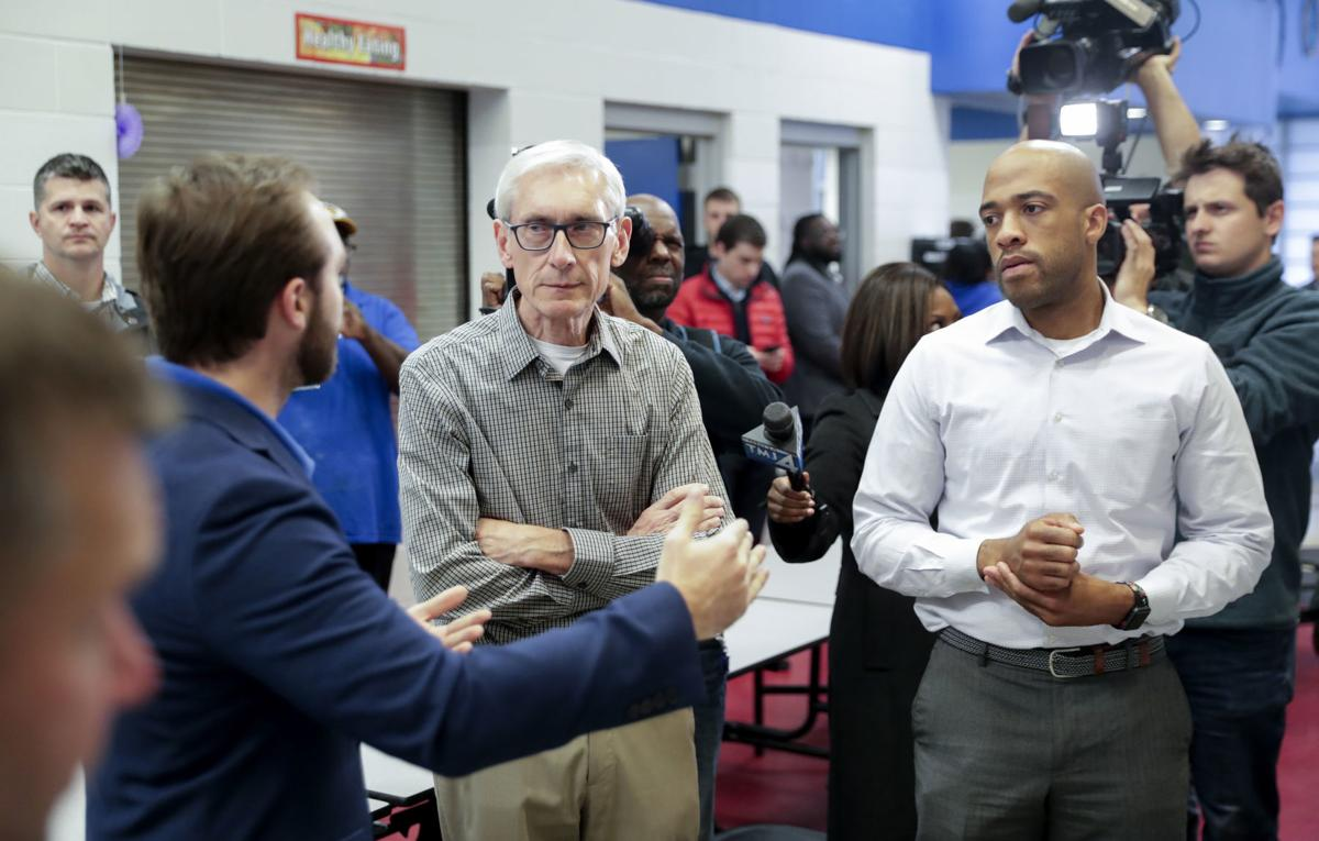 Governor-elect Tony Evers, Lt. Governor-elect Mandela Barnes
