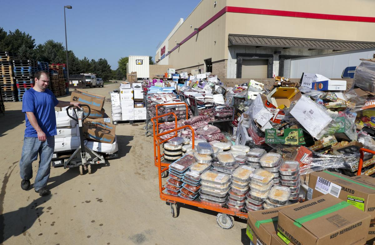 Food, other items damaged at Costco