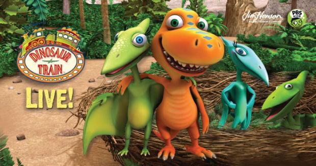 Weekly Top 5: Winter Art Fair, Dinosaur Train LIVE!, Hunger