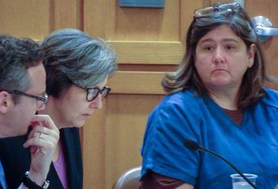 Jennifer Hancock in court