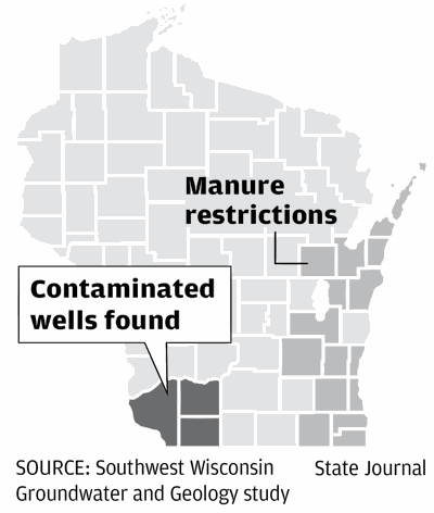 Contaminated wells found in southwest Wisconsin