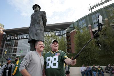 Packers fans selfie