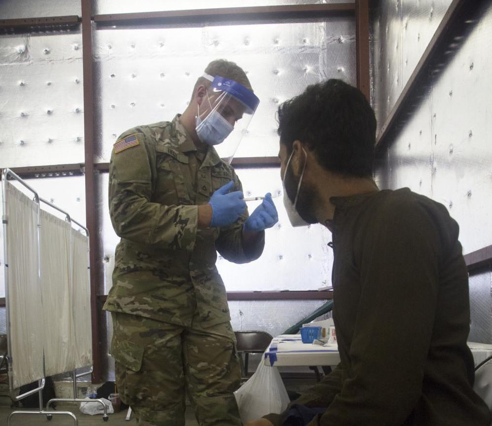 Fort McCoy vaccines