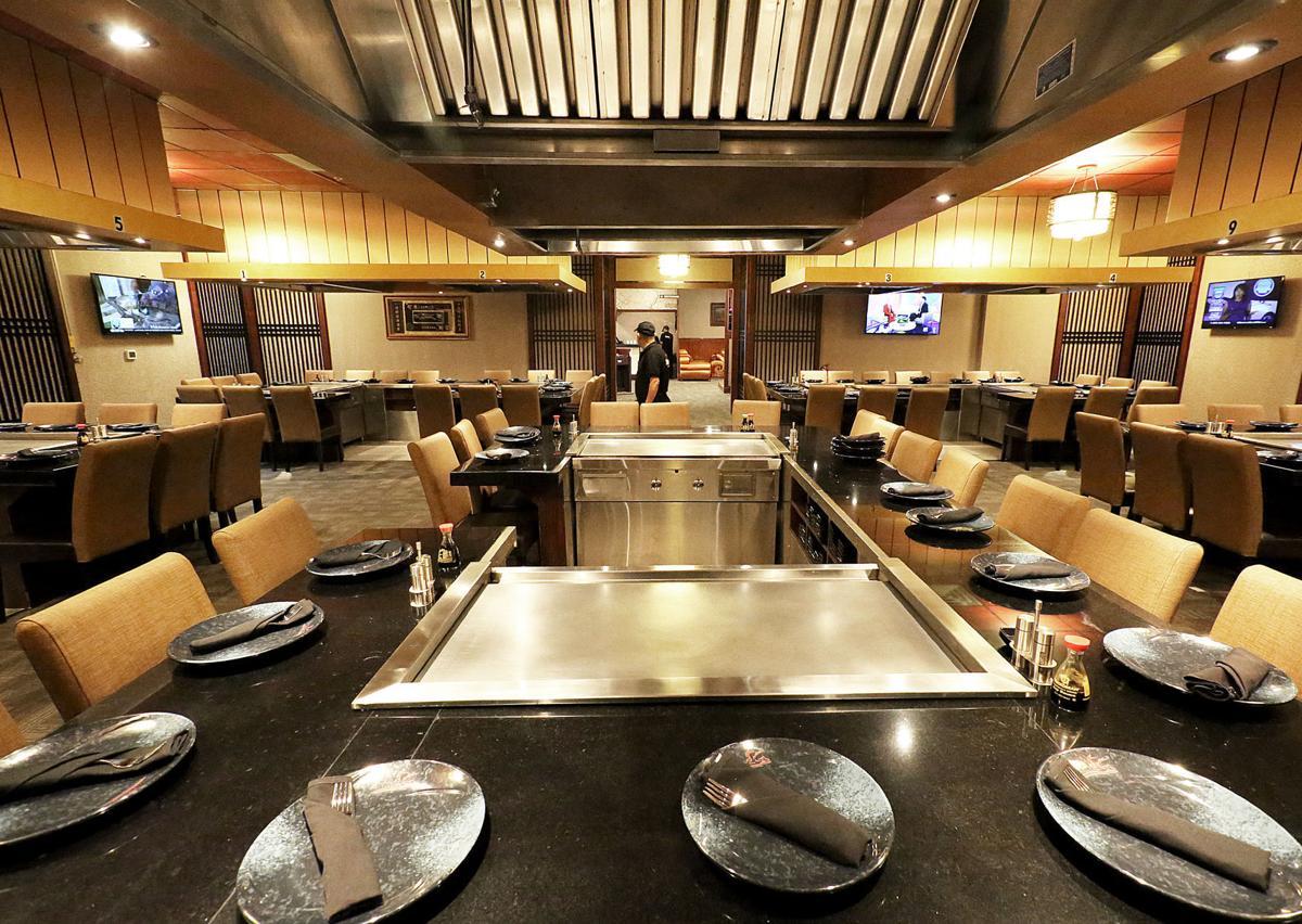 Sumo Sushi hibachi area