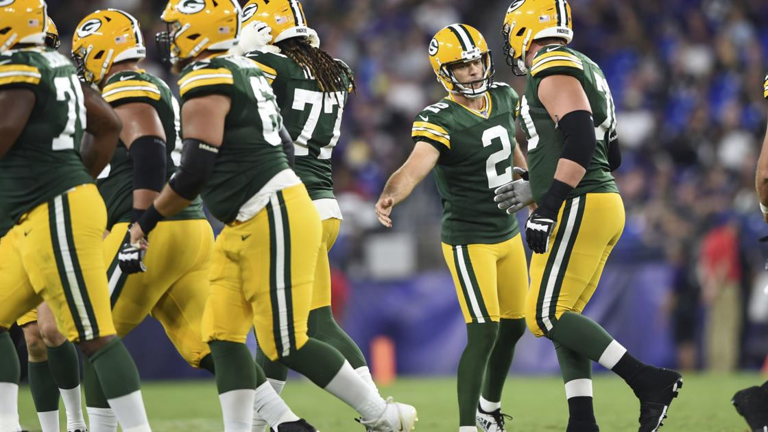 Unfazed by competition and still confident, Packers kicker Mason Crosby aims to stick around - Madison.com