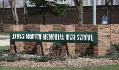 James Madison Memorial High School sign (copy)