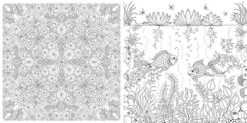Recent obsessions: Coloring books for grown-ups | City Life ...