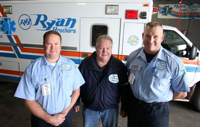 in the family business ryan brothers ambulance passed from one set rh madison com