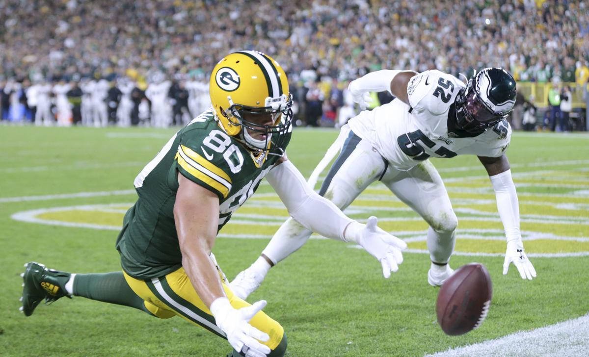 Jimmy Graham - Packers vs. Eagles