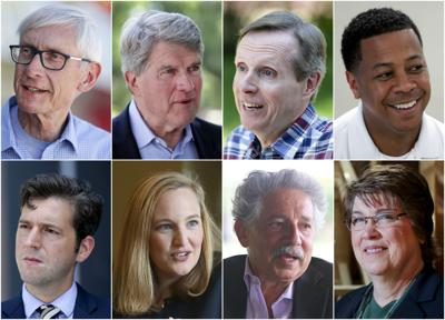 Democratic candidates for governor
