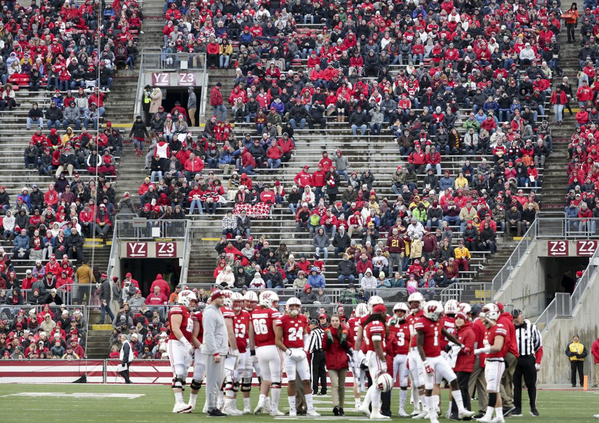big sale 40190 f2586 Wisconsin Badgers average more than 15,000 no-shows for home football games  in 2018   College Football   madison.com