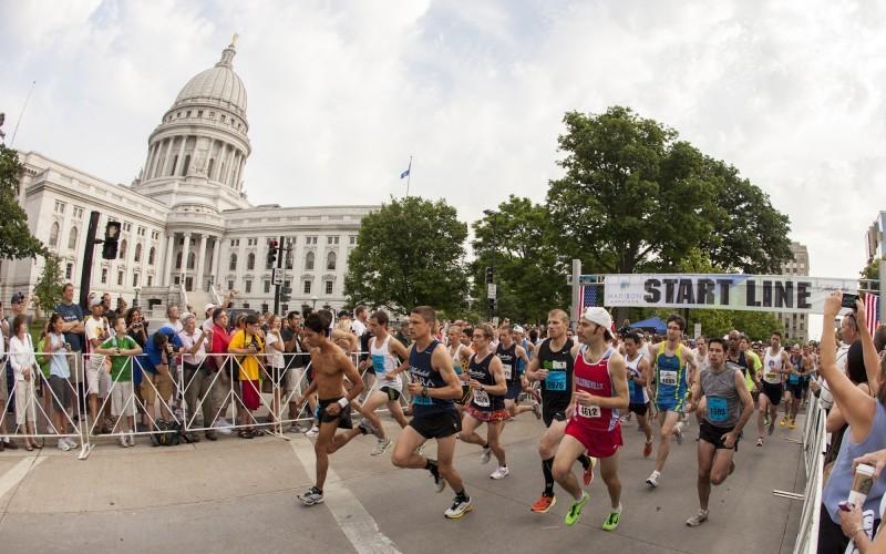 Madison Half Marathon start