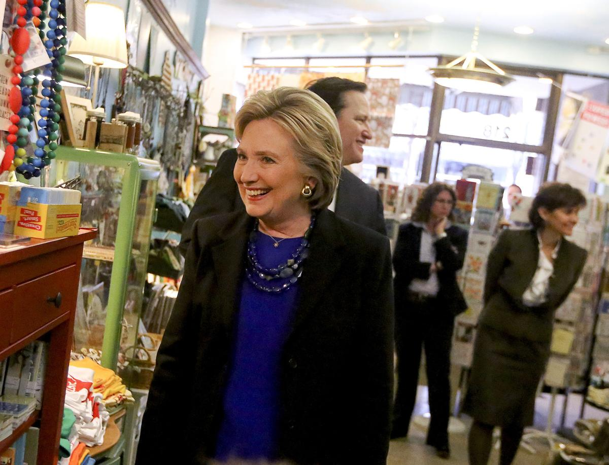 Hillary Clinton at Anthology