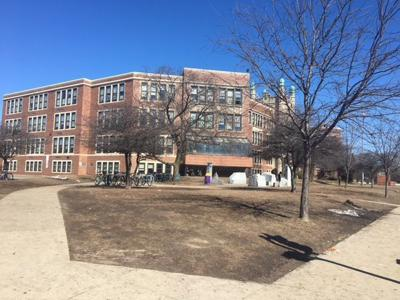 East High School exterior