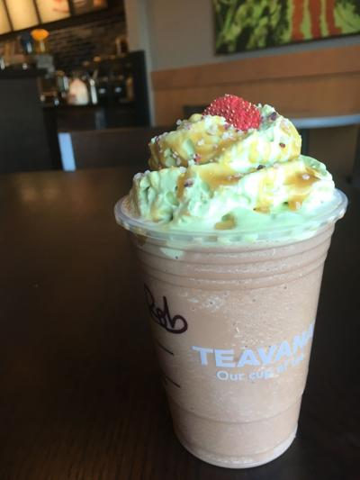 Christmas Tree Frap.Yeah I Ate That Get A Christmas Tree Frappuccino Before It