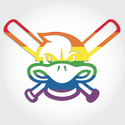 Mallards rainbow logo